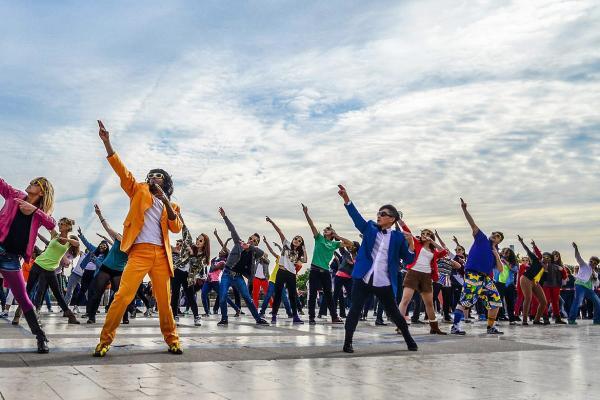 De leukste activiteit met de flashmob workshop i n Brussel!