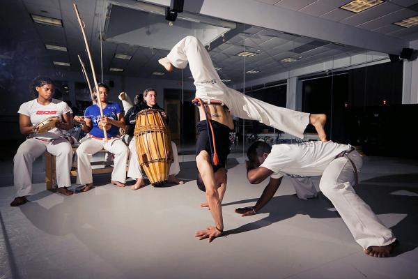 Workshop Capoeira Brussel